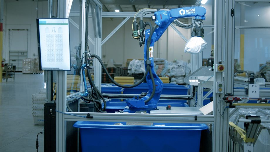 Ambidextrous Robotic Parcel Sorting System